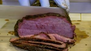 SmokingPit.com - Mad Hunky JAB Rubbed Alder Smoked Beef Bottom Round Roast