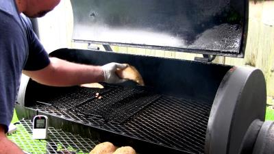 SmokingPit.com - Yoder YS640 - Peach Smoked Low Sodium Southwest Chipotle Chicken